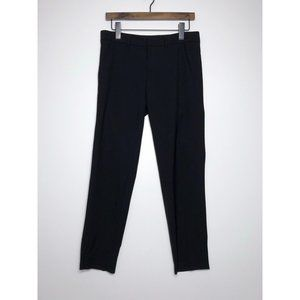 VINCE Side Strapping Pants Wool Black